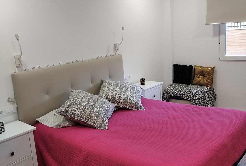 moderno piso totalmente reformado en Santa rosa-dormitorio
