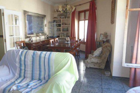 Acogedor piso que hace chaflán en zona Ensanche-salon3