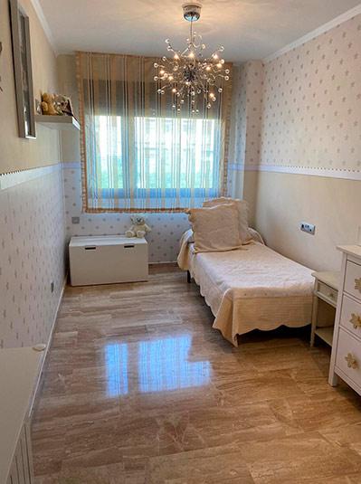 Moderno y luminoso piso lujoso en Ensanche-dormitorio