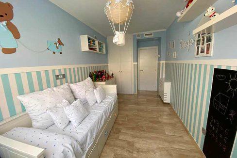 Moderno y luminoso piso lujoso en Ensanche-habitacion
