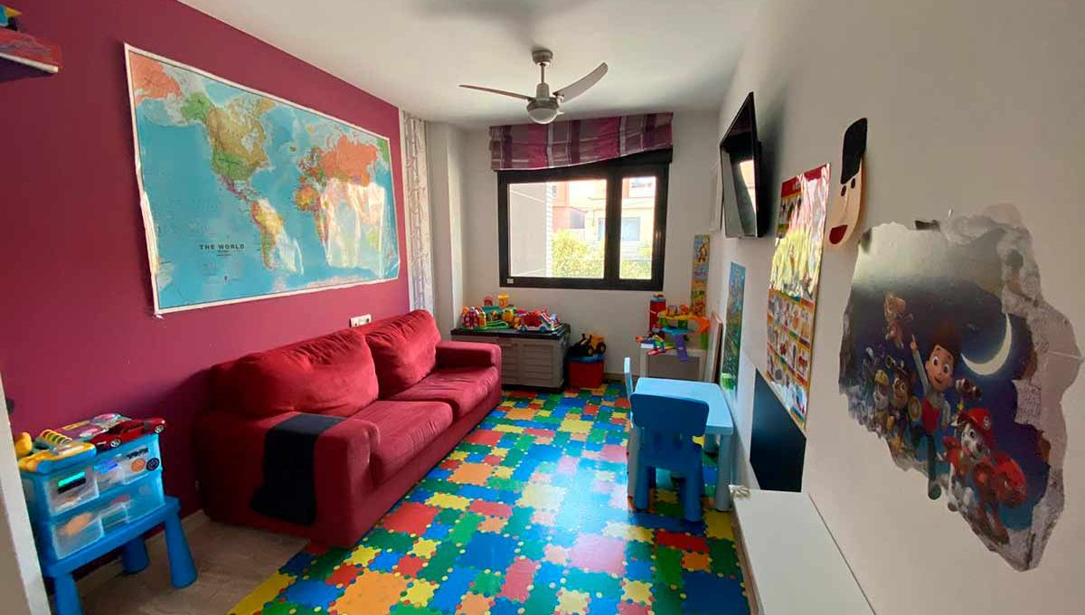 Moderno y luminoso piso lujoso en Ensanche-habitacion2