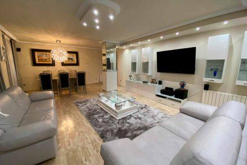 Moderno y luminoso piso lujoso en Ensanche-salon