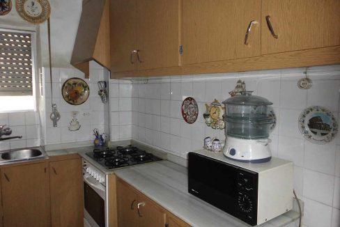 piso en chaflán con mirador en Ensanche-cocina