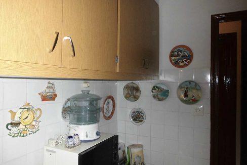 piso en chaflán con mirador en Ensanche-cocina2