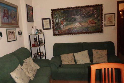 piso en chaflán con mirador en Ensanche-salon