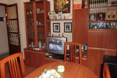 piso en chaflán con mirador en Ensanche-salon2