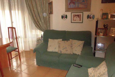 piso en chaflán con mirador en Ensanche-salon3