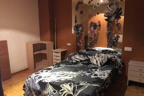 semisótano con terraza en Ensanche-dormitorio