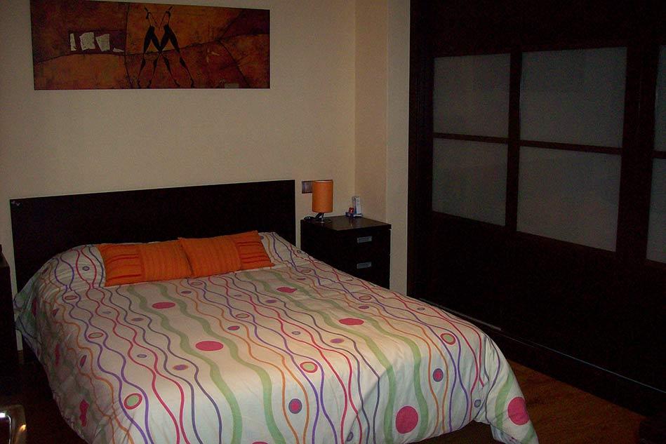 Piso reformado con terraza en Santa Rosa-dormitorio