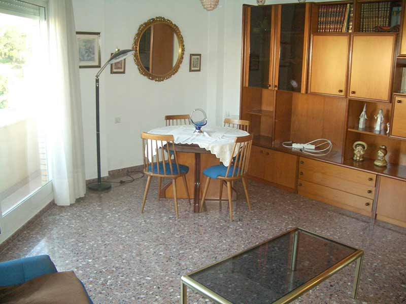 Se vende piso con balcón exterior y plaza de garaje-salon2
