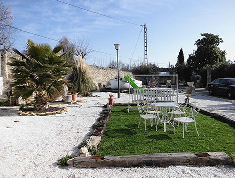 Chalet con muy buenas vistas a la venta en la zona de Muro-jardin3