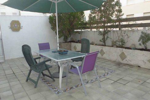 Piso con terraza, balcon y patio ubicado en Santa Rosa-terraza