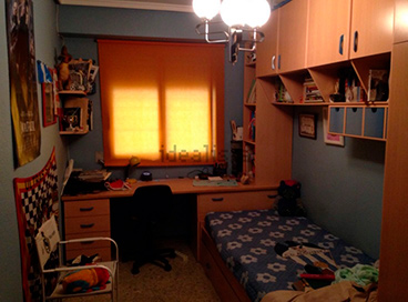 Piso en venta en santarosa con garaje y balcon-dormitorio3