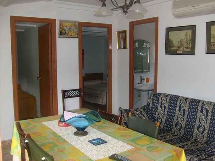 Amplia casa de campo con huerta y chimenea de leña-comedor