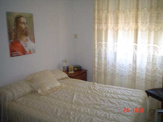 Casa de campo con cocina reformada y barbacoa en Gorga-dormitorio3