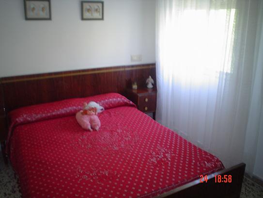 Casa de campo con cocina reformada y barbacoa en Gorga-dormitorio4