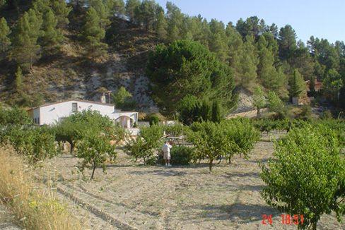 Casa de campo con cocina reformada y barbacoa en Gorga-exteriror