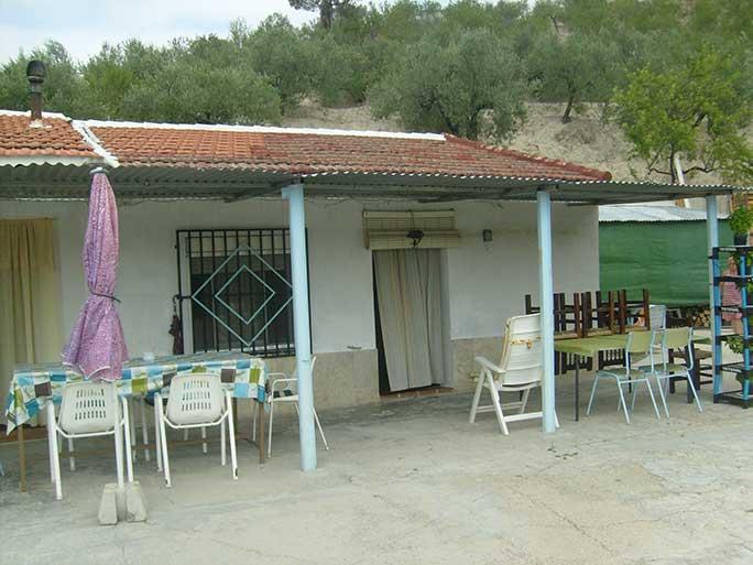 Casa de campo con pergola en milleneta-pergola