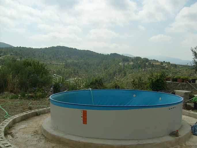 Casa de campo con pergola en milleneta-piscina2