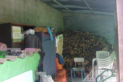 Casa de campo con pergola en milleneta-porche