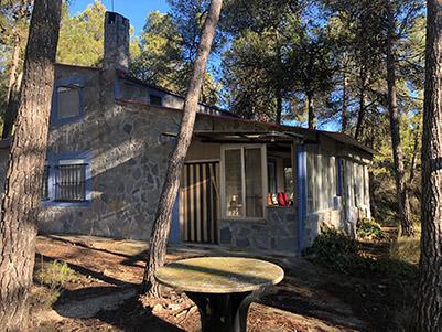 Casa de campo con piscina en el parque natural Mariola-exterior3