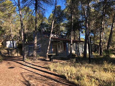 Casa de campo con piscina en el parque natural Mariola-exterior4