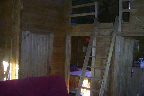 Amplio terreno con dos casas y muy buen acceso en Agres-salon2