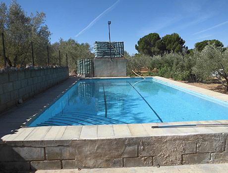 Casa de campo a la venta en Banyeres-piscina