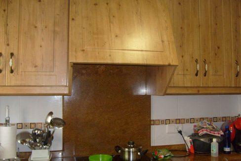 Casa de campo acondicionada con piscina y barbacoa-cocina