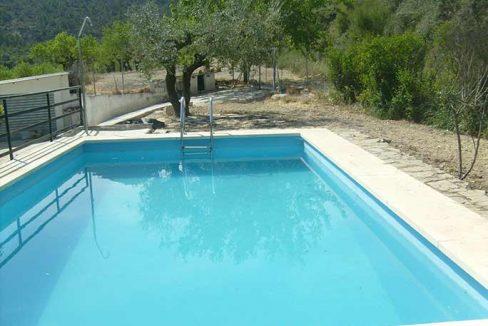 Casa de campo acondicionada con piscina y barbacoa-piscina