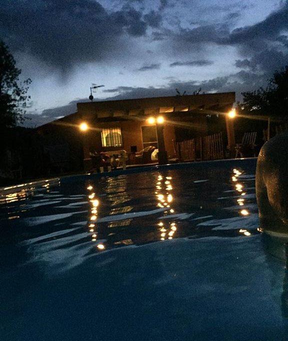 Casa de campo cerca del nucleo urbano en Muro-piscina