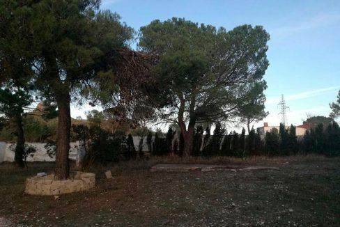 Casa de campo con dos plantas y piscina en Mariola-patio