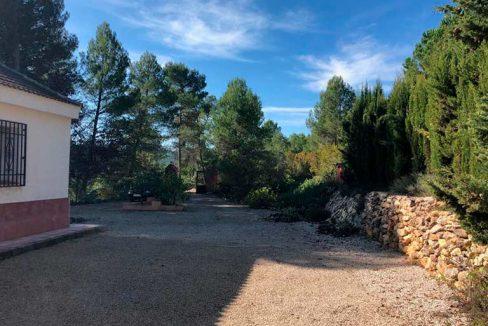 Casa de campo con paellero en venta en Pinatell-exterior2