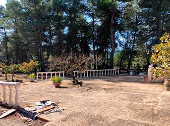 Casa de campo con paellero en venta en Pinatell-exterior3