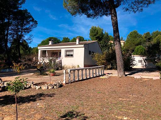 Casa de campo con paellero en venta en Pinatell-exterior4