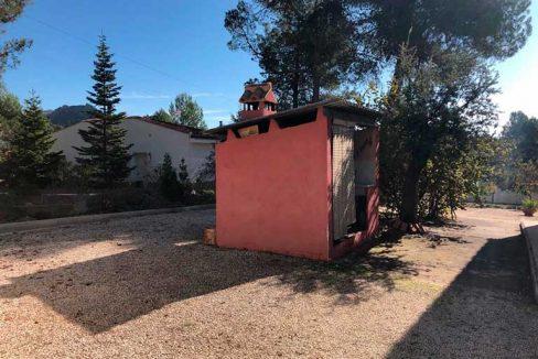 Casa de campo con paellero en venta en Pinatell-jardin