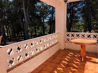 Casa de campo con paellero en venta en Pinatell-porche