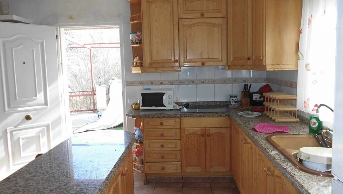 Encantadora y acogedora casa de campo en Cocentaina-cocina