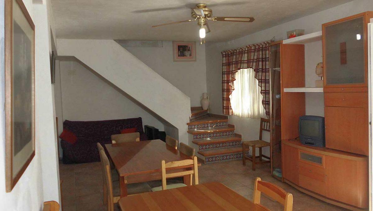 Encantadora y acogedora casa de campo en Cocentaina-comedor