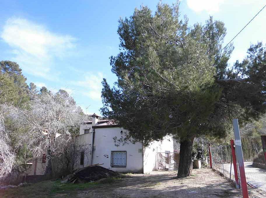Encantadora y acogedora casa de campo en Cocentaina-exterior