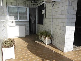 Piso en venta con balcones exteriores en Ensanche - patio