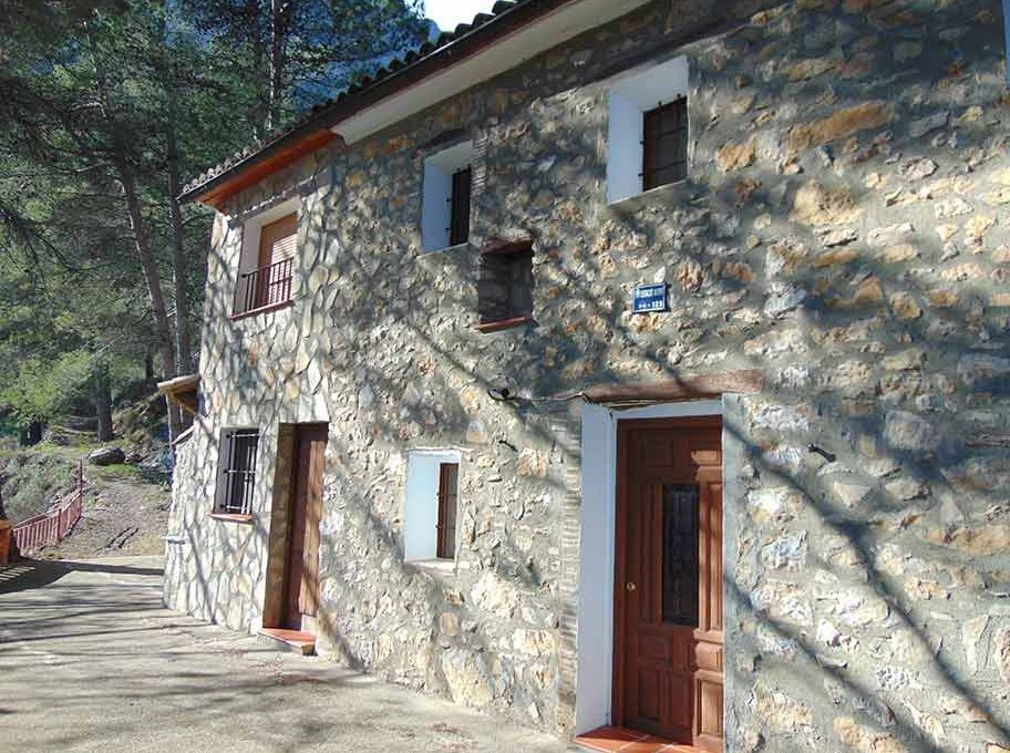 Casa de campo con casa albergue en cocentaina-exterior