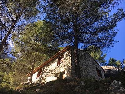 Casa de campo con casa albergue en cocentaina-exterior2