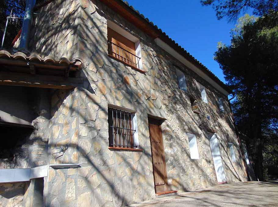 Casa de campo con casa albergue en cocentaina-exterior3