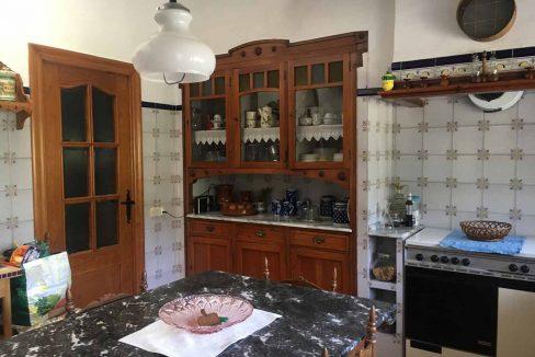 Casa de montaña con muy buenas vistas en Alcoy-cocina