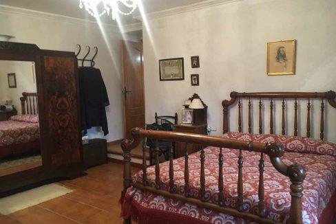 Casa de montaña con muy buenas vistas en Alcoy-dormitorio