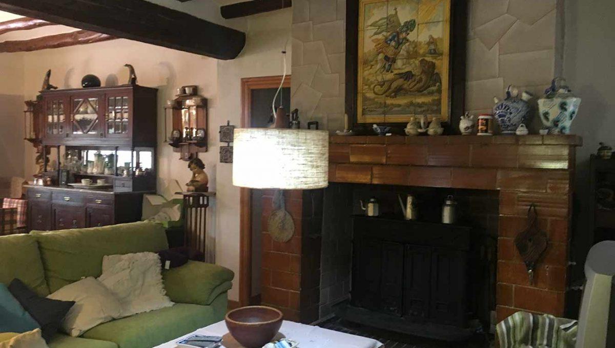 Casa de montaña con muy buenas vistas en Alcoy-salon