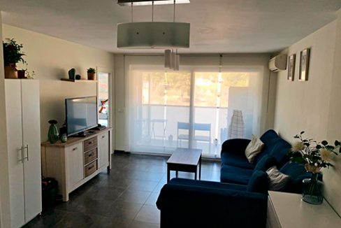 Se vende piso con buenas vistas y piscina en Santa Rosa. - Salon 1
