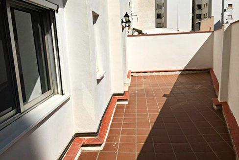 Gran piso espaciosos en Santa Rosa. - Terraza 2
