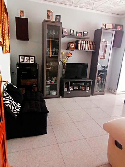 Se vende piso con terraza en Santa Rosa. - Salon 2